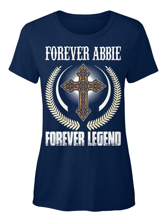Forever-Abbie-Legend-T-shirt-Elegant-pour-Femme