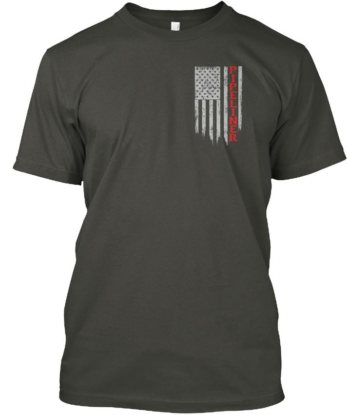 American-Pipeliner-Flag-Hanes-Tagless-Tee-T-Shirt thumbnail 12