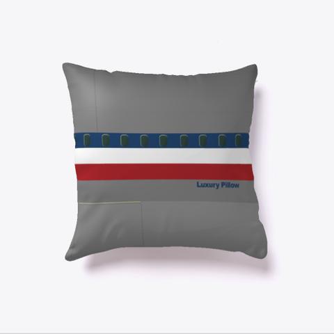 Classic Luxury Pillow Dark Grey T-Shirt Front