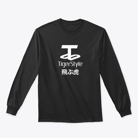 Tiger Style Japan Black T-Shirt Front