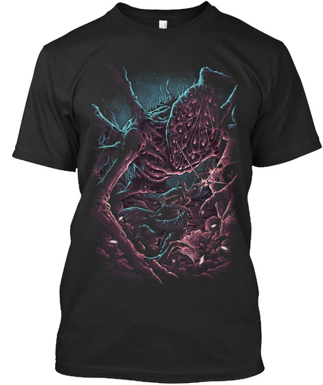 Into Nightmare Black T-Shirt Front