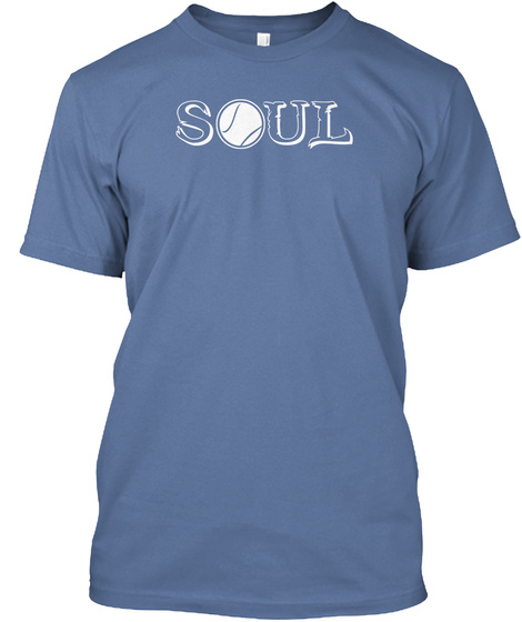 Soul Denim Blue T-Shirt Front