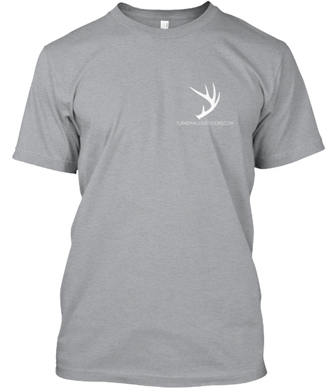 Tho All American T Shirt Heather Grey T-Shirt Front