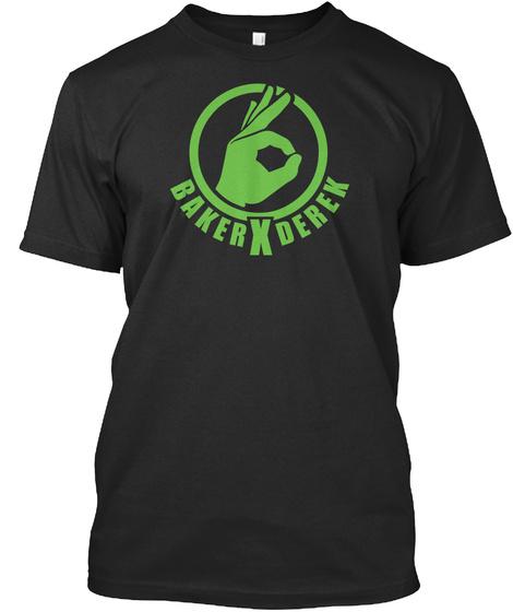Baker X Derek Cheah! Black T-Shirt Front
