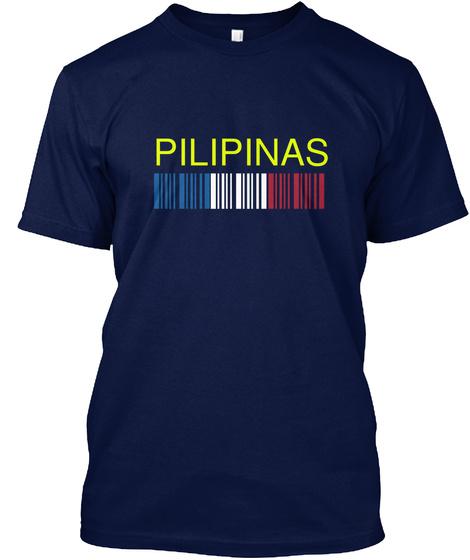 Pilipinas Navy T-Shirt Front