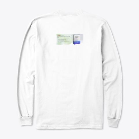 Menomin Forte Cena White T-Shirt Back
