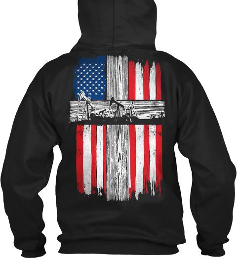 Oilfield   Us Black Sweatshirt Back
