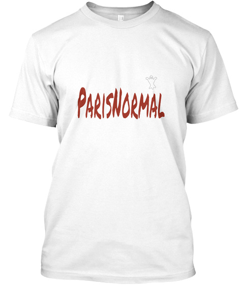 Paris Normal White T-Shirt Front