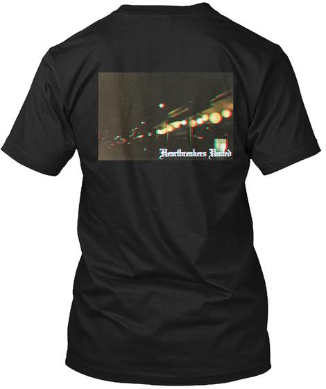 Heartbreakers United Black T-Shirt Back