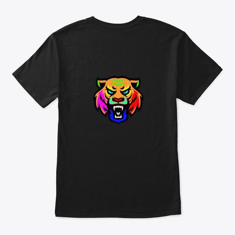 Tiger's Den 2 Black T-Shirt Back