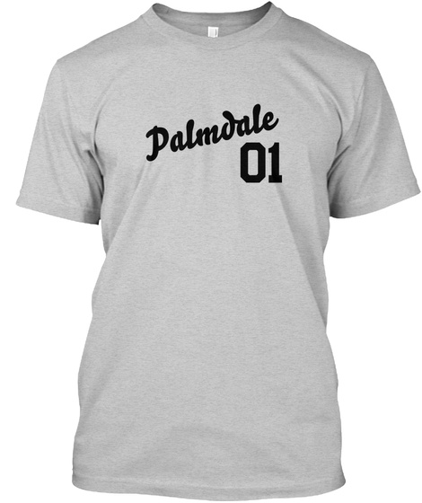Palmdale Varsity Legend Light Steel T-Shirt Front