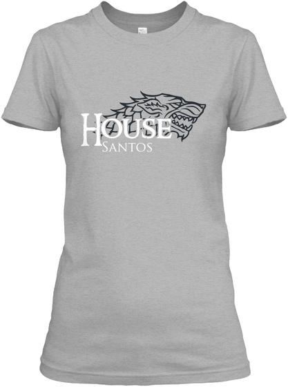 House Santos Sport Grey T-Shirt Front