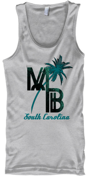 Mb South Carolina Sport Grey Camiseta Front