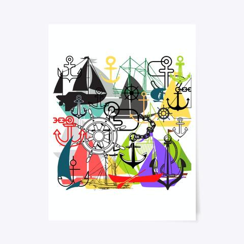 Nautical Art Standard T-Shirt Front