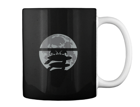 Flat Earth Eclipse 3 Mug [Int] #Sfsf Black Mug Back