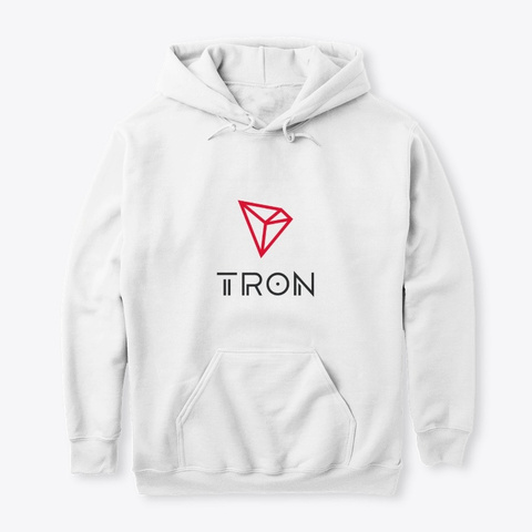 Tron : By Cryptoontour  White T-Shirt Front