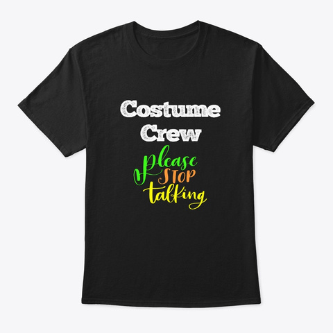 [Theatre] Costume Crew   Please Black T-Shirt Front