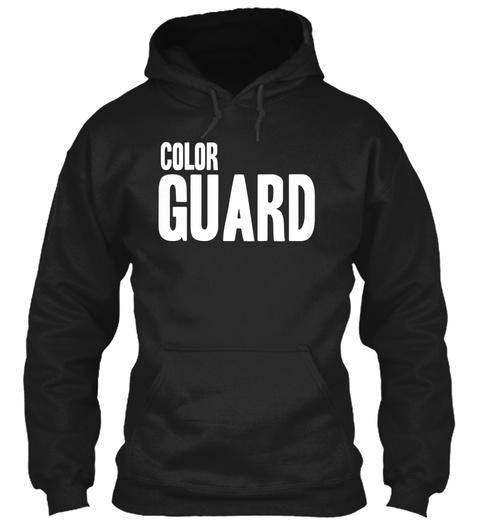 Color Guard Black Sweatshirt Front