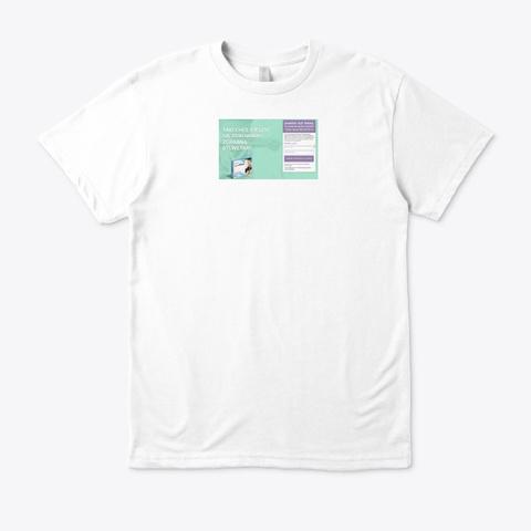 Slim Plast Opinie White T-Shirt Front