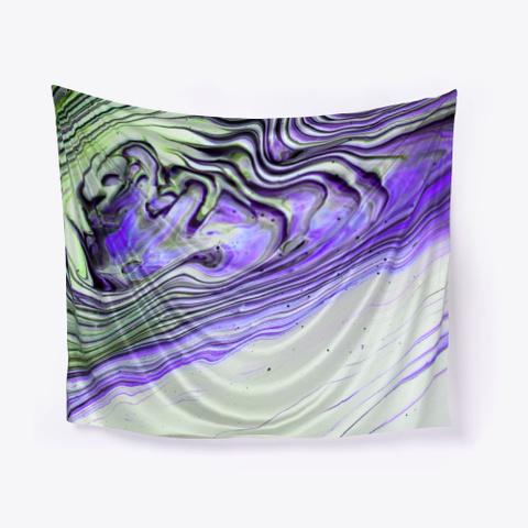 Fluid Art Wall Hanging Standard T-Shirt Front