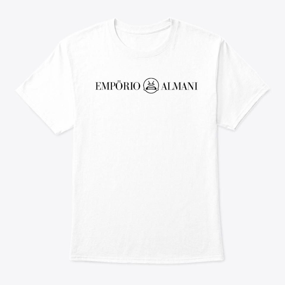 T-Shirt EMPÖRIO ALMANI weiß