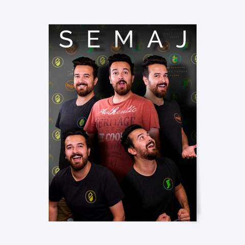 Semaj Poster Standard T-Shirt Front