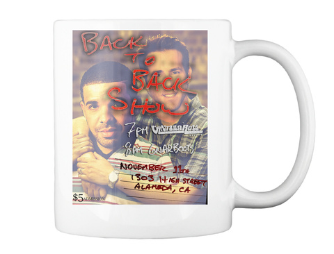 Back To Back Mug (Great) White Mug Back