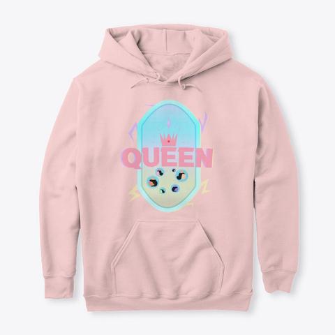 Queen Light Pink T-Shirt Front