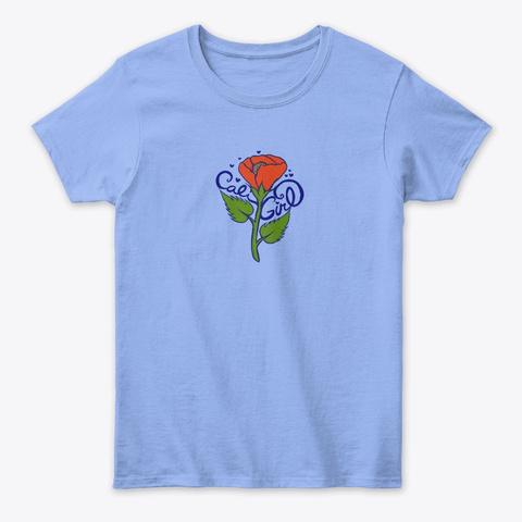 Cali Girl Tee Light Blue T-Shirt Front