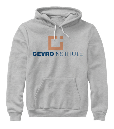 Cevro Institute Athletic Heather T-Shirt Front