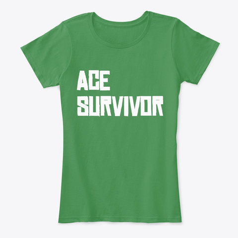 Ace Survivor Series Kelly Green  T-Shirt Front
