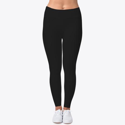 How Expert Classic/Plain/No Logo Leggings Black T-Shirt Front