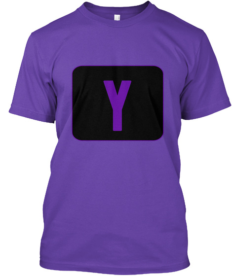 Y Purple Rush T-Shirt Front