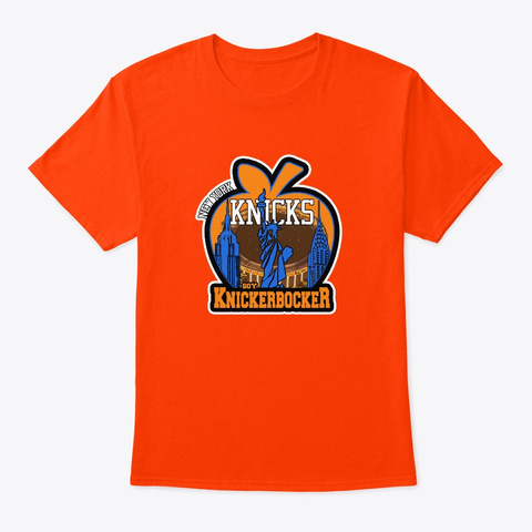 Manzana Orange Camiseta Front