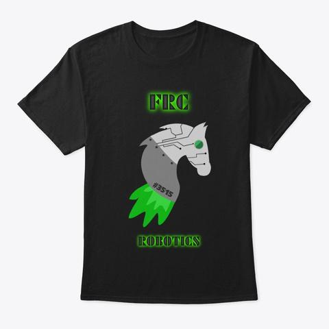 Frc Robotics Exclusive | Deep Space Black T-Shirt Front