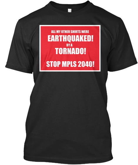 Apocalyptic Shirt Black T-Shirt Front