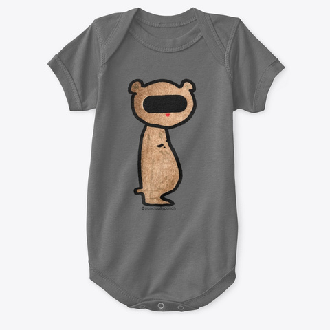 Chubby Charcoal T-Shirt Front
