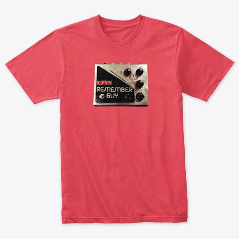 Remember Guy! Vintage Red T-Shirt Front