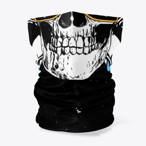 Winter Ready Rollerblader Black T-Shirt Front