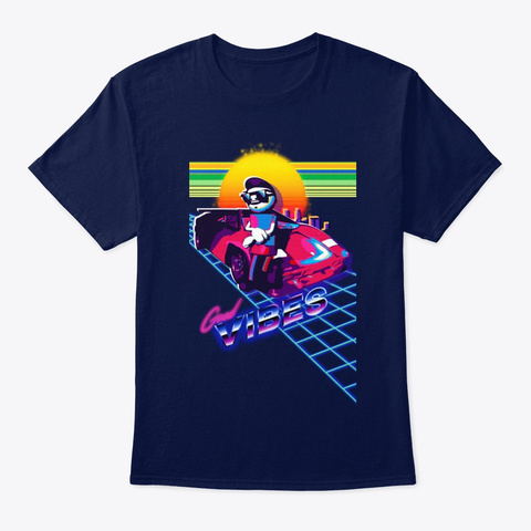 Paulo Good Vibes Navy T-Shirt Front