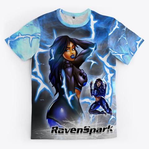 Raven Spark Black T-Shirt Front