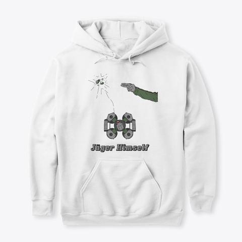 Jäger Himself Merch Store White T-Shirt Front