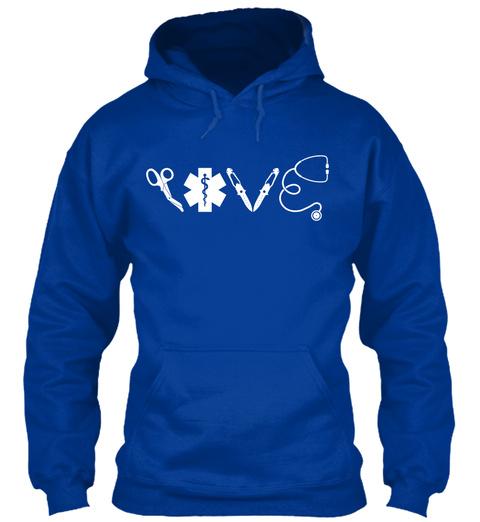 Love Royal Blue T-Shirt Front