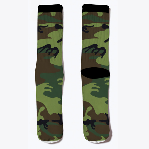 Military Camo Socks!!  Standard T-Shirt Front