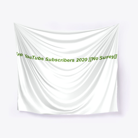 Free You Tube Subscribers 2020 !No Survey Standard T-Shirt Front