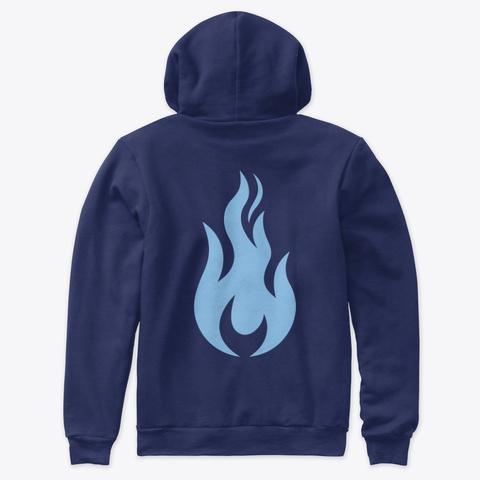 Sffs Premium Hoodie Navy T-Shirt Back