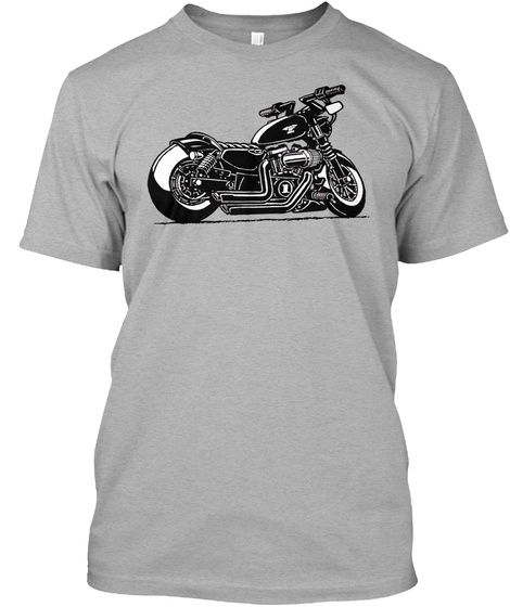 The Iron Athletic Heather T-Shirt Front