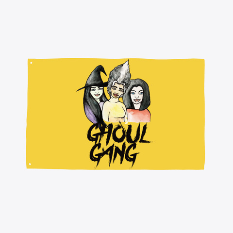 Ghoul Gang Yellow T-Shirt Front