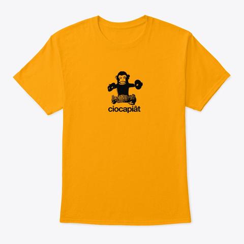 Bestiario Reggiano · Ciocapiât Gold T-Shirt Front