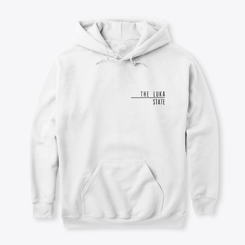 What's My Problem Premium Hoodie White T-Shirt Front